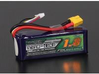 Turnigy nano-tech 1800mah 4S 65 ~ 130C Lipo Paquet