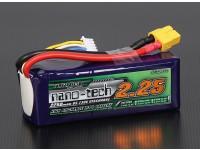 Turnigy nano-tech 2250mAh 4S 65 ~ 130C Lipo Paquet