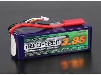 Turnigy nano-tech 3850mah 4S 65 ~ 130C Lipo Paquet