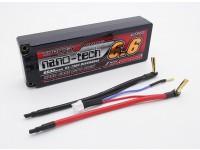 Turnigy nano-tech 6600mAh 2S2P 65 ~ 130C Hardcase Lipo Paquet
