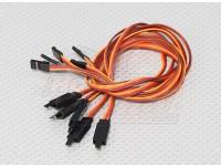 45CM Servo Lead Extention (JR) avec crochet 26AWG (5pcs / bag)