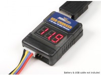 HobbyKing ™ LIPO USB adaptateur de charge et Cell Checker (2S ~ 6S)