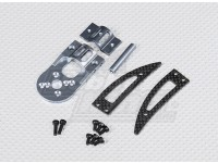 Turnigy Talon V2 Motor Mount / Landing Gear Set