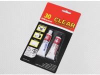 EV830 / 20G 30 Min Cure Effacer Epoxy Glue