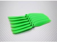 GWS EP hélice (DD-4540 114x102mm) vert (6pcs / set)