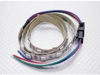 LED rouge, vert, bleu (RVB) 50cm Strip w / Flying Lead