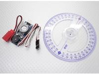 Moteur à essence CDI Ignition Test et outil de configuration de synchronisation - Comprend Degree Wheel Vilebrequin