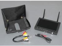 7 pouces 800 x 480 5.8GHz diversité Receiver & TFT LCD FPV Moniteur avec rétro-éclairage LED SkyZone