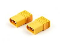 XT60 Mâle Plug Adapter T-Connector (2pcs)