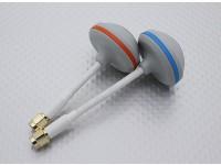 Esprit circulaire Boscam 5.8GHz Nuage Polarized Antenne Set SMA