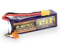 Turnigy nano-tech A-SPEC G2 1800mAh 4S 65 ~ 130C Lipo Paquet