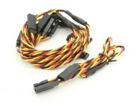 30cm Twisted Leads Y Servo (JR) 24AWG (5pc)