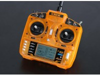 OrangeRx T-SIX 2.4GHz DSM2 Compatible transmetteur 6CH w / 10 Modèle Mémoire et 3 Pos Switch (Mode 2)