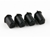 Basher RZ-4 1/10 Rally Racer - En option Suspension arrière Eccentric Bushing - 2 degrés (4pcs)