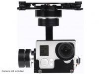X-CAM A10-3H 3 Axis 360Deg Rotation GoPro Gimbal Avec A / V Link
