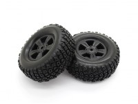 Pneus Set - Basher PitBull 1/18 4WD Desert Buggy (2pcs)