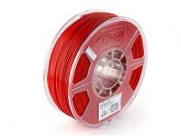 ESUN Imprimante 3D Filament Rouge 1.75mm ABS 1KG Rouleau