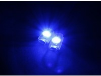Turnigy Super Bright 2 x Bleu Add On LED Light Set