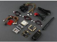 Micro HKPilot Mega Maître Set Avec OSD, GPS, Télémétrie Radio, Capteur PDB / BEC / alimentation (433Mhz) (APM)