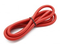 Turnigy haute qualité 8AWG silicone Fil 1m (Rouge)