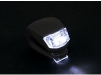 Noir Silicon Mini-lampe (LED blanche)