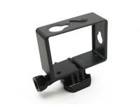 Cadre de montage en plastique pour Xiaoyi Action Camera w / Universal Quick-Release Mont