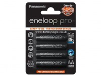 Panasonic Eneloop Pro Batterie 2450mAh AA NiMH (4 pack)