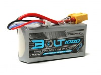 Turnigy Bolt 1000mAh 3S 11.4V 65 ~ 130C High Voltage Lipoly Pack (LiHV)