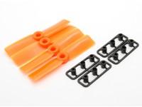 GemFan Bull Nose 3030 Hélices ABS CW / CCW Set Orange (2 paires)