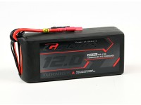 Turnigy graphène Professional 12000mAh 6S 15C LiPo pack w / 5.5mm Bullet Connector