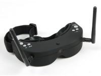 Skyzone FPV Goggles 5.8GHz Div 40CH Raceband RX y compris H / Tracker (V2)