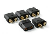 Nylon XT90 Connecteurs Femelle (5 pcs / sac) Noir