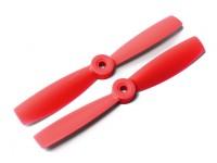 DYS Bull Nose plastique Hélices T5045 (CW / CCW) (Rouge) (2pcs)