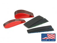 "Zona 1 1/2 ""et 3/4"" Wide Finger Sander Maître Set (Assorted Grit)"