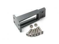 CNC safran en alliage d'aluminium et un ensemble de support