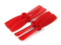 DYS T4045-R 4x4.5 CW / CCW (paire) - 2 paires / pack rouge