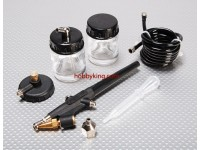 Simple-Action Air Brush Set
