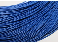 Turnigy Pure-silicone Fil 24AWG 1m (Bleu)