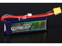 Turnigy nano-tech 1800mah 3S 25 ~ 50C Lipo Paquet