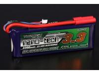 Turnigy nano-tech 3300mAh 3S 25 ~ 50C Lipo Paquet