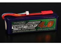 Turnigy nano-tech 4000mah 6S 45 ~ 90C Lipo Paquet
