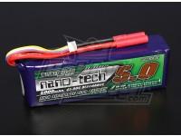 Turnigy nano-tech 5000mAh 4S 45 ~ 90C Lipo Paquet