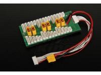 HobbyKing Plaque Charge en parallèle 6 packs de 2 ~ 6S (XT-60)