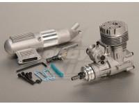 ASP S52A Deux maladies Glow moteur w / Remote HS Needle Valve