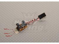 TURNIGY Voltage Booster pour servomoteurs et Rx (1S à 5V 1A)