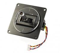 FrSky Horus X10S ACCST 2.4GHz Transmitter Replacement MC12P Gimbal (Silver) 1