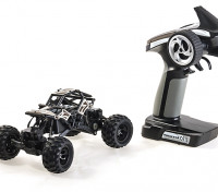 Basher RockSta 1/24 4WS Mini Rock Crawler (RTR) (Metal Gears)