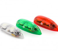 EasyLight Self Contained LED Flashing Light Set w/Battery (Red/Green/White) 1