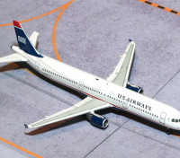 Gemini Jets US Airways Airbus A321-200 N162UW 1:400 Diecast Model GJUSA1398