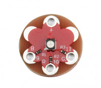 Lilypad Wearable Full Color 1 * 3528 RGB LED Module